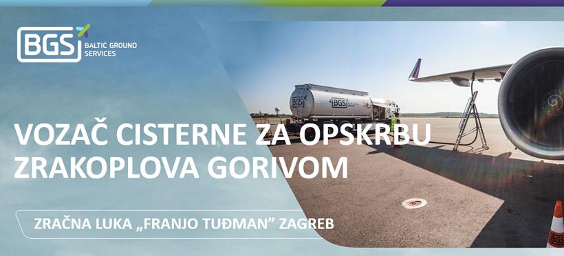 Mojposao Net Vozac Cisterne Za Opskrbu Zrakoplova Gorivom M Z Zagreb Baltic Ground Services Hr D O O