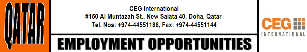 Mojposao Net Structural Design Engineer M F Doha Ceg International